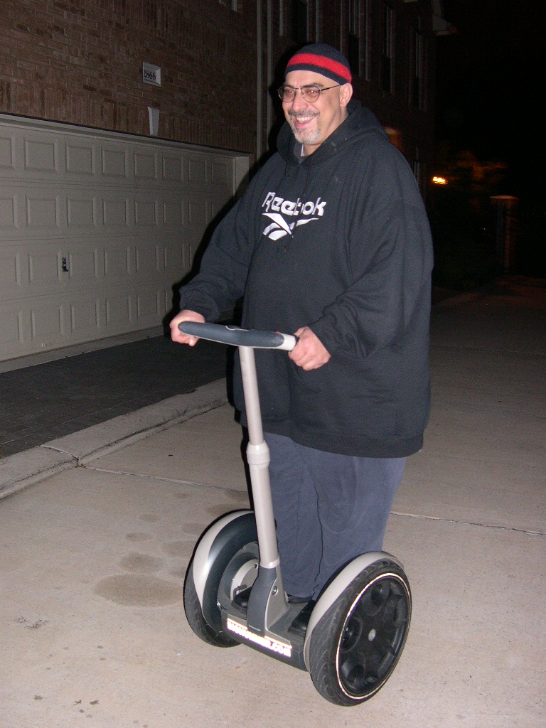 Pat Dinizio >> Rockers on Segways